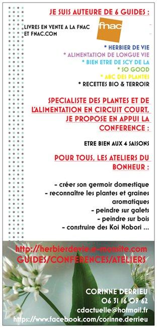 DETAIL ACTIVITES CORINNE DERRIEU HERBIER DE VIE