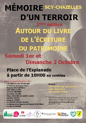 Mémoires d'un terroir Salon du Livre 01 02 10 2016