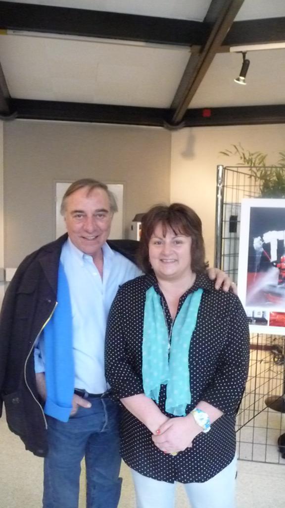 Avec Mr ALLAIN BOUGRAIN DUBOURG Salon de La Biodiversité Marly mai 2016