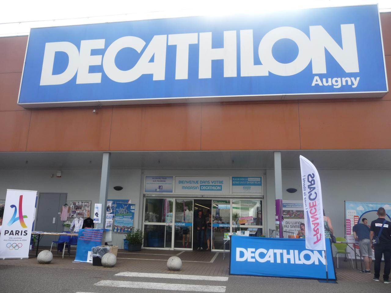 PARTENAIRE EXPOSANT VITALSPORT DECATHLON  METZ AUGNY 57